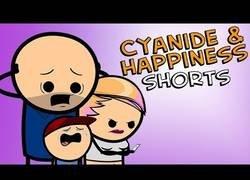 Enlace a Padre de familia, por Cyanide & Happiness
