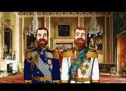Enlace a Nicolas II de Rusia y Jorge V de Inglaterra eran primos reales