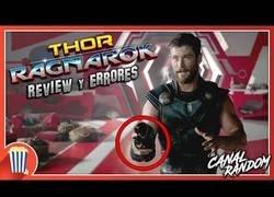 Enlace a Errores de Thor Ragnarok