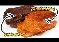 Enlace a Superpilopi se la saca y cocina unas deliciosas torrijas CHOCOLATEADAS