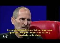 Enlace a Los consejos que dio Steve Jobs sobre la privacidad y todo el mundo está volviendo a escuchar de nuevo