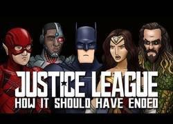 Enlace a Así es como debería haber terminado 'La Liga de la Justicia'