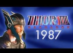 Enlace a Recrean el tráiler de Thor III al estilo de 1987 y el resultado está muy logrado