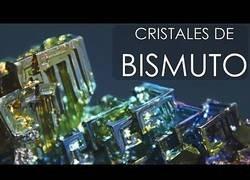 Enlace a Así son los pasos para hacer cristales de bismuto