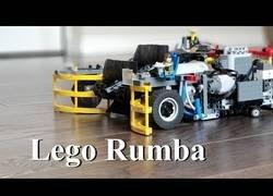 Enlace a Inventan la Lego Rumba, la aspiradora para recoger piezas de LEGO