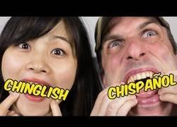 Enlace a Jabiertzo y Lele nos enseñan como hablar dos idiomas a la vez: el chinglish y el chispañol