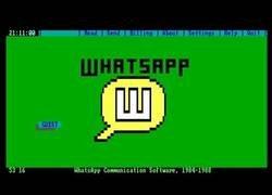 Enlace a El funcionamiento de WhatsApp sería muy diferente en los años 80