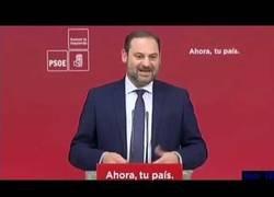 Enlace a PSOE - LOS INDEPENDENTISTAS NUNCA PODRÁN SER NUESTROS ALIADOS