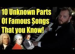 Enlace a 10 partes desconocidas de canciones que sabes ¿Puedes reconocerlos?