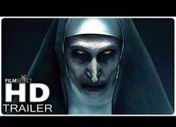 Enlace a Ya está aquí el trailer de ''La monja''