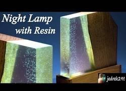 Enlace a Una lampara muy casera