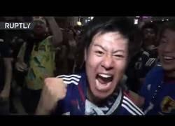 Enlace a Celebración a la japonesa tras ganar a Colombia