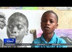 Enlace a El increíble arte de este niño nigeriano de 11 años