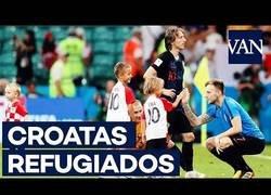 Enlace a Modric, Rakitic y dos jugadores más de Croacia fueron refugiados en la guerra de Yugoslavia