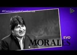Enlace a Conversando con Correa': Evo Morales