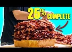 Enlace a Cocinando la hamburguesa de las 1000 tiras de bacon