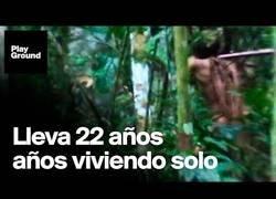 """Enlace a Graban al """"último de la tribu"""" en el Amazonas"""