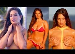 Enlace a Ashley Graham caldea el ambiente con sus posados para Playboy