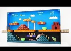 Enlace a Construyendo un nivel de Super Mario para nuestro hamster