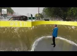 Enlace a 'The Weather Channel' vuelve a sorprender a sus espectadores informando de las inundaciones con la realidad aumentada
