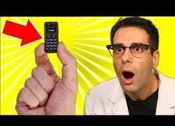 Enlace a El móvil más pequeño del mundo