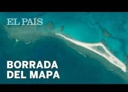 Enlace a Isla desaparece por huracán