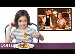 Enlace a La reacción de varios niños al probar comidas famosas vistas en Harry Potter, Ratatouille...