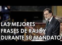 Enlace a Las mejores frases de Rajoy durante su mandato