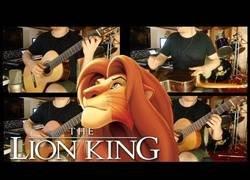Enlace a Banda sonora de El Rey León a guitarra