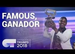 Enlace a Famous, nuevo ganador de Operación Triunfo