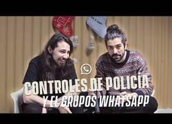 Enlace a Controles de policía y el grupo de Jaén