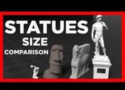 Enlace a Comparación del tamaño de las estatuas