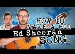 Enlace a Cómo hacer un hit como los de Ed Sheeran