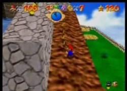Enlace a Una pareja japonesa trata de esuivar una seta verde en el Super Mario 64