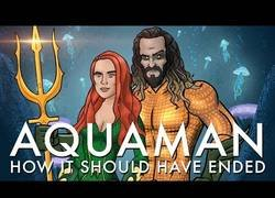 Enlace a Así es como debería haber terminado Aquaman
