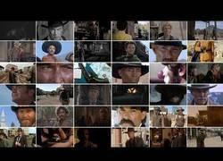 Enlace a Sincronizan el momento de los duelos de disparos de 36 western míticos en un solo clip