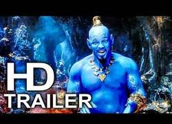 Enlace a Presentan el primer tráiler de Aladdin con Will Smith como genio