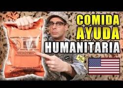 Enlace a Probando la comida humanitaria que suministra el