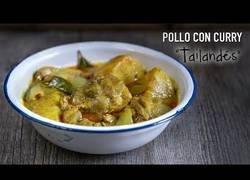Enlace a Pollo con curry Tailandés