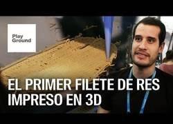 Enlace a La impresión en 3D de un filete