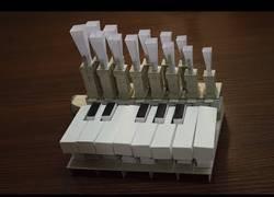 Enlace a Construyen un órgano totalmente funcional con papel