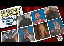 Enlace a Jimmy Fallon logra que todos los actores de Avengers: Endgame resuman todas las películas en dos minutos en esta gloriosa canción