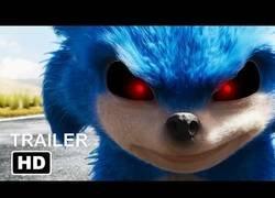 Enlace a El tráiler de Sonic presentado como una película de terror