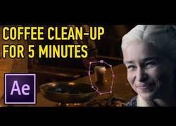 Enlace a Tutorial para borrar un café del Starbucks si se te cuela en un episodio de Juego de Tronos