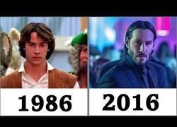 Enlace a Recopilatorio cronológico de ''whoas'' Keanu Reeves