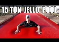 Enlace a La mayor piscina de gelatina