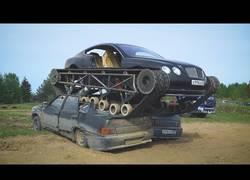 Enlace a Prueba de campo de un tanque hecho con un Bentley
