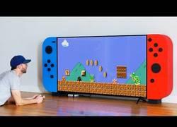 Enlace a Construyendo una Nintendo Switch gigante