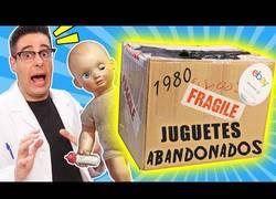 Enlace a Unboxing juguetes abandonados de los años 80