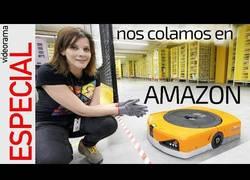 Enlace a Orden caótico en los almacenes robotizados de Amazon